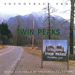 ANGELO BADALAMENTI - Twin Peaks CD album cover