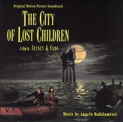 Angelo Badalamenti - The City Of Lost Children CD (album) cover
