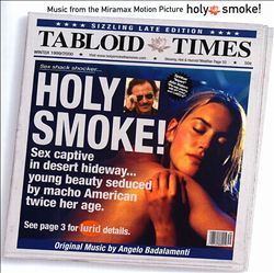 Angelo Badalamenti - Holy Smoke CD (album) cover