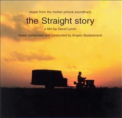 Angelo Badalamenti - The Straight Story CD (album) cover