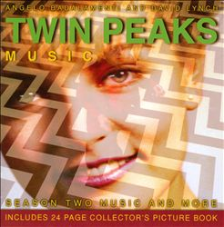 Angelo Badalamenti - Twin Peaks: All New Season Two Music CD (album) cover