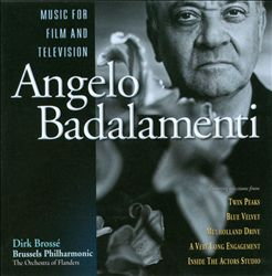 Angelo Badalamenti - Angelo Badalamenti: Music For Film And Television CD (album) cover