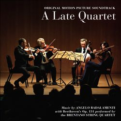 Angelo Badalamenti - A Late Quartet CD (album) cover