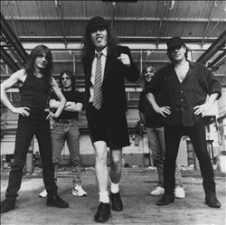 AC/DC image groupe band picture