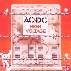 Ac/dc - High Voltage [australia] CD (album) cover