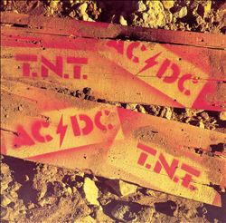 Ac/dc T.n.t. CD album cover
