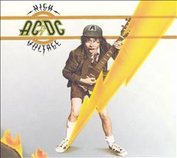 Ac/dc - High Voltage CD (album) cover