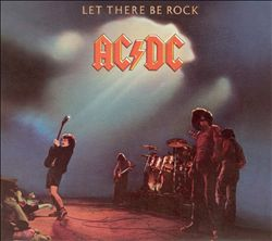 AC/DC - Let There Be Rock CD album cover