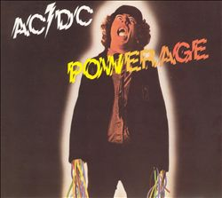 AC/DC - Powerage CD album cover
