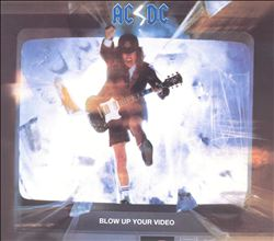 Ac/dc - Blow Up Your Video CD (album) cover