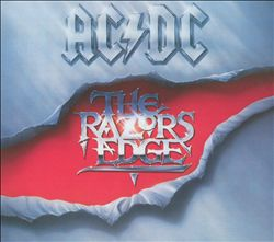 Ac/dc - The Razor's Edge CD (album) cover