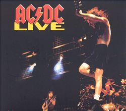 Ac/dc - Live CD (album) cover