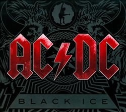 Ac/dc - Black Ice CD (album) cover