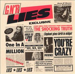 Guns N' Roses - G N' R Lies CD (album) cover
