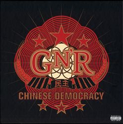 Guns N' Roses - Chinese Democracy CD (album) cover