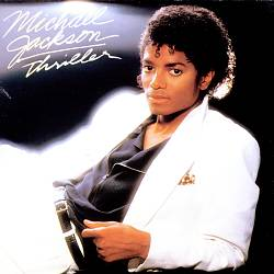 MICHAEL JACKSON - Thriller CD album cover
