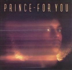 Prince - For You CD (album) cover