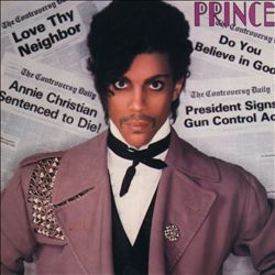 Prince - Controversy CD (album) cover