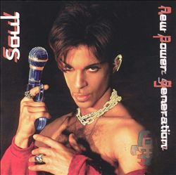 Prince - New Power Soul CD (album) cover