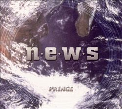 PRINCE - N.e.w.s CD album cover
