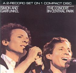 SIMON & GARFUNKEL - The Concert In Central Park CD album cover