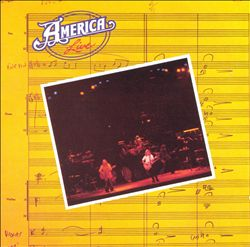 America - America Live CD (album) cover