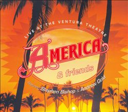 America - Live At The Ventura Theatre CD (album) cover