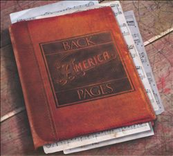 America - Back Pages CD (album) cover