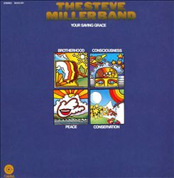 Steve Miller Band - Your Saving Grace CD (album) cover