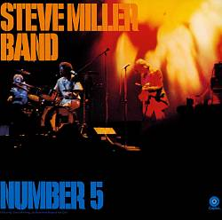 Steve Miller Band - Number 5 CD (album) cover