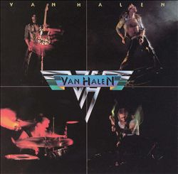 Van Halen Van Halen CD album cover