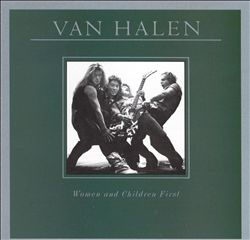 VAN HALEN - Women And Children First CD album cover