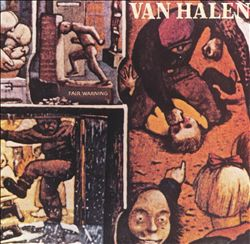 Van Halen - Fair Warning CD (album) cover