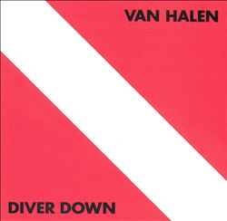 Van Halen - Diver Down CD (album) cover