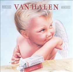 VAN HALEN - 1984 CD album cover