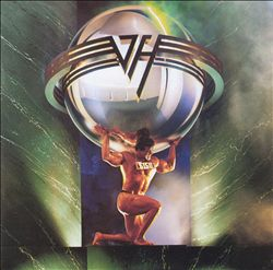 Van Halen - 5150 CD (album) cover