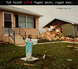 Van Halen - Live: Right Here, Right Now CD (album) cover