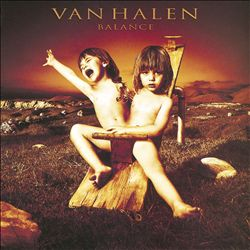 Van Halen - Balance CD (album) cover
