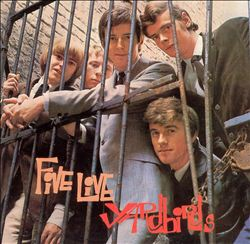 The Yardbirds - Five Live Yardbirds CD (album) cover