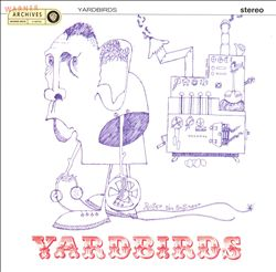 The Yardbirds - Roger The Engineer CD (album) cover