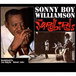The Yardbirds - Sonny Boy Williamson & The Yardbirds CD (album) cover