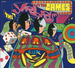 The Yardbirds - Little Games CD (album) cover