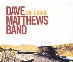 Dave Matthews Band - The Gorge CD (album) cover