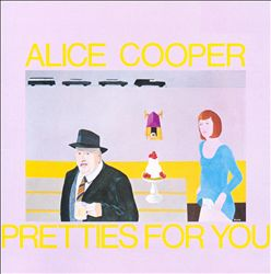 ALICE COOPER - Pretties For You CD album cover