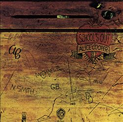 ALICE COOPER - School's Out CD album cover