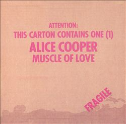 ALICE COOPER - Muscle Of Love CD album cover