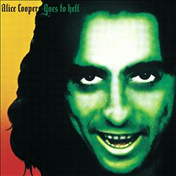 Alice Cooper - Alice Cooper Goes To Hell CD (album) cover