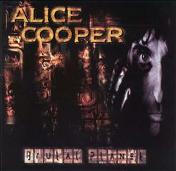 ALICE COOPER - Brutal Planet CD album cover