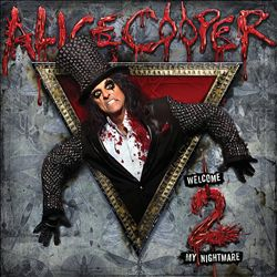ALICE COOPER - Welcome 2 My Nightmare CD album cover