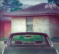 Arcade Fire - The Suburbs CD (album) cover